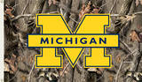 NCAA Michigan Wolverines Camo Flag with Grommets Flag
