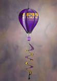 NCAA Louisiana State Tigers Hot Air Balloon Spinner Novelty