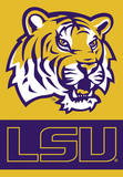 NCAA Louisiana State Tigers 2-Sided House Banner Flag