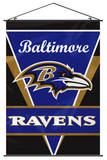 NFL Baltimore Ravens Wall Banner Flag