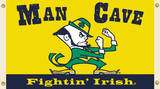 NCAA Notre Dame Fighting Irish Man Cave Flag with Grommets Flag