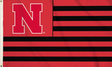 NCAA Nebraska Huskers Flag with Grommets Flag