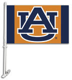 NCAA Auburn Tigers Car Flag with Wall Bracket Novelty