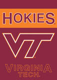 NCAA Virginia Tech Hokies 2-Sided Garden Flag Flag