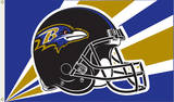 NFL Baltimore Ravens Flag with Grommets Flag