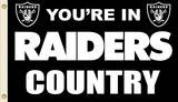 NFL Oakland Raiders Flag with Grommets Novelty