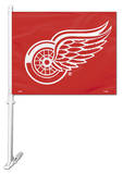NHL Detroit Red Wings Car Flag Flag