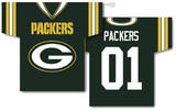 NFL Green Bay Packers 2-Sided Jersey Banner Flag