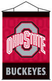 NCAA Ohio State Buckeyes Indoor Banner Scroll Wall Scroll