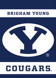 NCAA Brigham Young Cougars 2-Sided Garden Flag Novidade