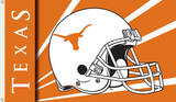 NCAA Texas Longhorns Helmet Flag with Grommets Flag
