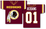 NFL Washington Redskins 2-Sided Jersey Banner Flag