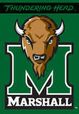 NCAA Marshall Thundering Herd 2-Sided House Banner Flag