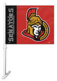 NHL Ottawa Senators Car Flag Flag