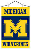 NCAA Michigan Wolverines Indoor Banner Scroll Wall Scroll