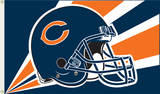NFL Chicago Bears Flag with Grommets Flag