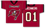 NFL Tampa Bay Bucaneers 2-Sided Jersey Banner Flag