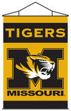 NCAA Missouri Tigers Indoor Banner Scroll Wall Scroll