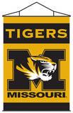 NCAA Missouri Tigers Indoor Banner Scroll Pergamino