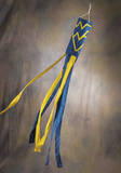 NCAA West Virginia Mountaineers Wind Sock Novelty