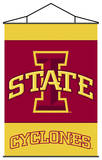 NCAA Iowa State Cyclones Indoor Banner Scroll Wall Scroll