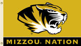 NCAA Missouri Tigers Flag with Grommets Flag