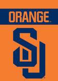 NCAA Syracuse Orange 2-Sided Garden Flag Novelty