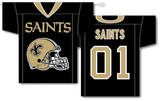 NFL New Orleans Saints 2-Sided Jersey Banner Flag