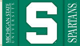 NCAA Michigan State Spartans 2-Sided Flag with Grommets Flag