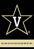 NCAA Vanderbilt Commodores 2-Sided House Banner Flag