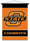 NCAA Oklahoma State Cowboys Indoor Banner Scroll Wall Scroll