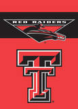 NCAA Texas Tech Red Raiders 2-Sided Garden Flag Novelty