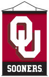 NCAA Oklahoma Sooners Indoor Banner Scroll Wall Scroll