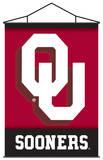 NCAA Oklahoma Sooners Indoor Banner Scroll Pergamino
