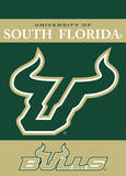 NCAA South Florida Bulls 2-Sided Garden Flag Flag
