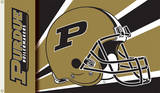 NCAA Purdue Boilermakers Helmet Flag with Grommets Flag