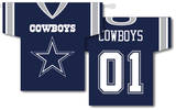 NFL Dallas Cowboys 2-Sided Jersey Banner Flag