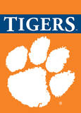 NCAA Clemson Tigers 2-Sided Garden Flag Novelty