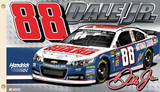 Nascar Dale Earnhardt Jr. 88 2-Sided Flag with Grommets Novelty