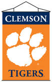 NCAA Clemson Tigers Indoor Banner Scroll Wall Scroll