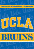 NCAA Ucla Bruins 2-Sided House Banner Wall Scroll