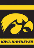 NCAA Iowa Hawkeyes 2-Sided Garden Flag Novelty
