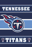 NFL Tennessee Titans 2-Sided House Banner Flag