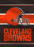 NFL Cleveland Browns 2-Sided House Banner Flag