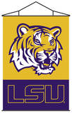 NCAA Louisiana State Tigers Indoor Banner Scroll Wall Scroll