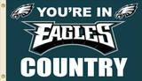NFL Philadelphia Eagles Flag with Grommets Flag