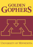NCAA Minnesota Golden Gophers 2-Sided House Banner Wall Scroll