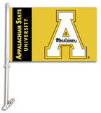 NCAA Appalachian State Car Flag with Wall Bracket Flag