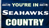 NFL Seattle Seahawks Flag with Grommets Bandera