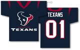 NFL Houston Texans 2-Sided Jersey Banner Flag